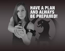 Pepper spray - have a plan
